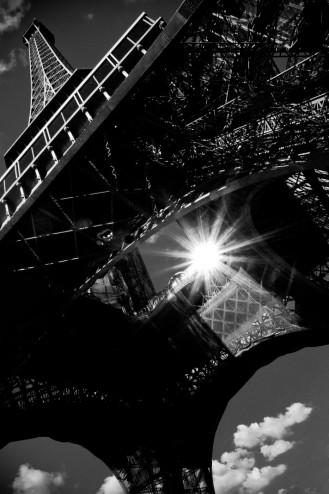 Parijs Eiffeltoren Zwart Wit