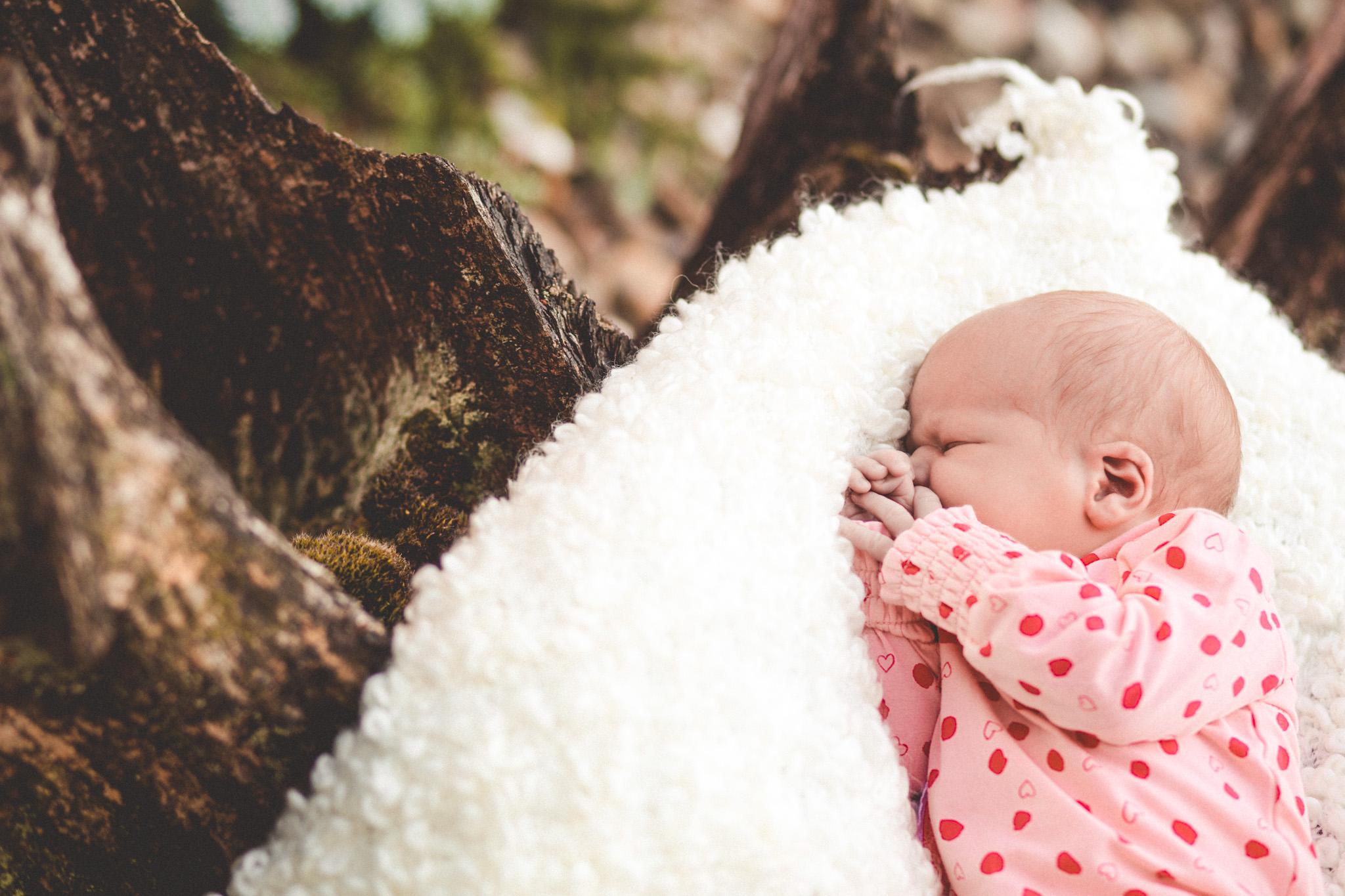 fotograaf veendam baby buiten