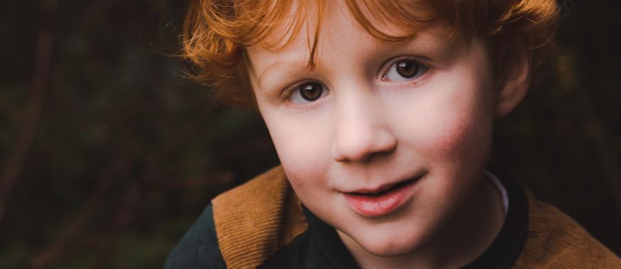 Familie portret Veendam jongen