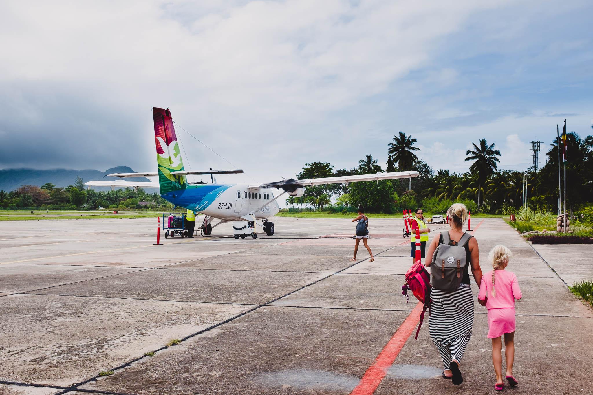 Foto verslag Seychellen vakantie Nico, Monique en Leela
