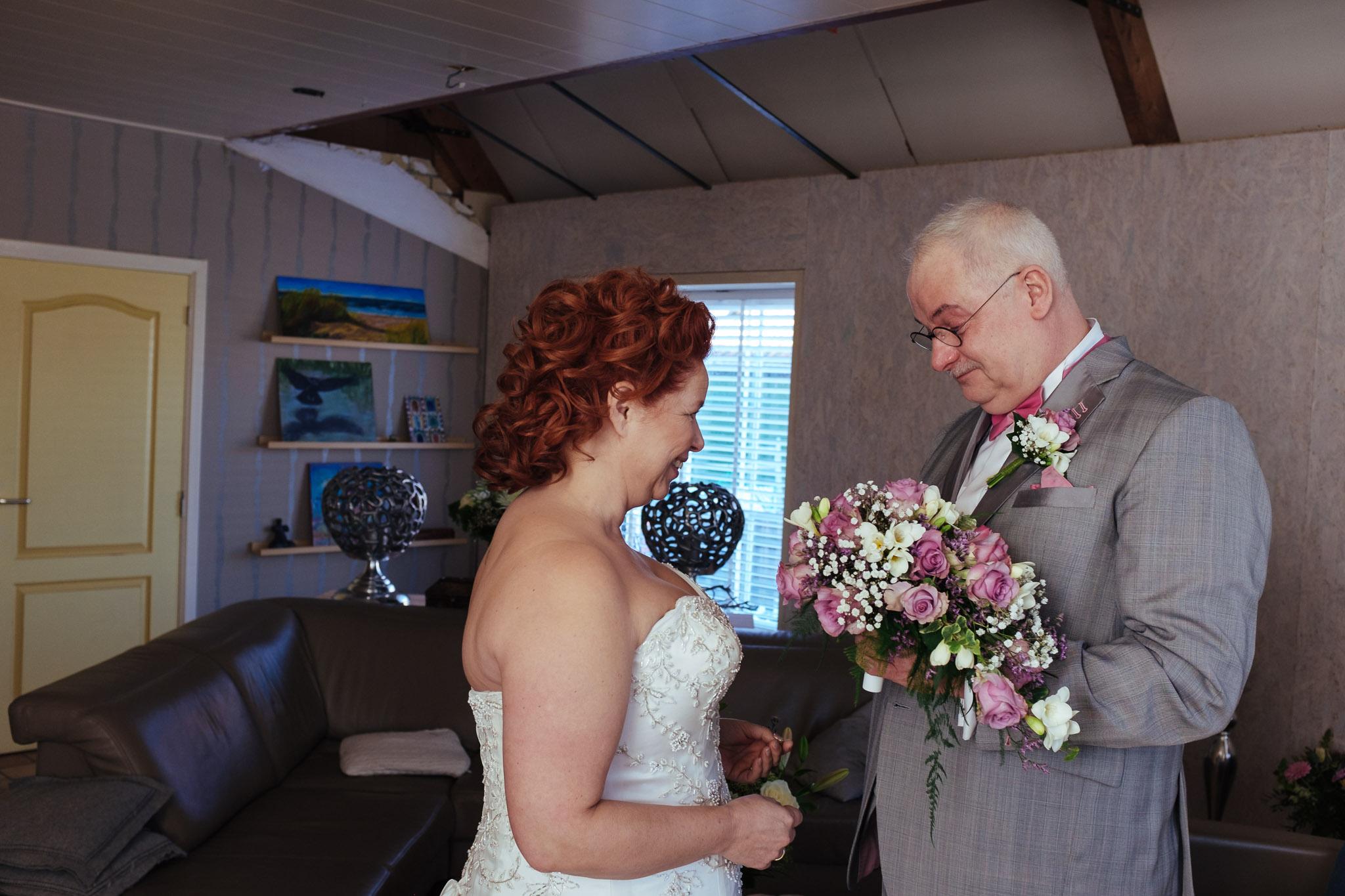 trouwreportage in de toekomst in scheemda en landgoed westerlee