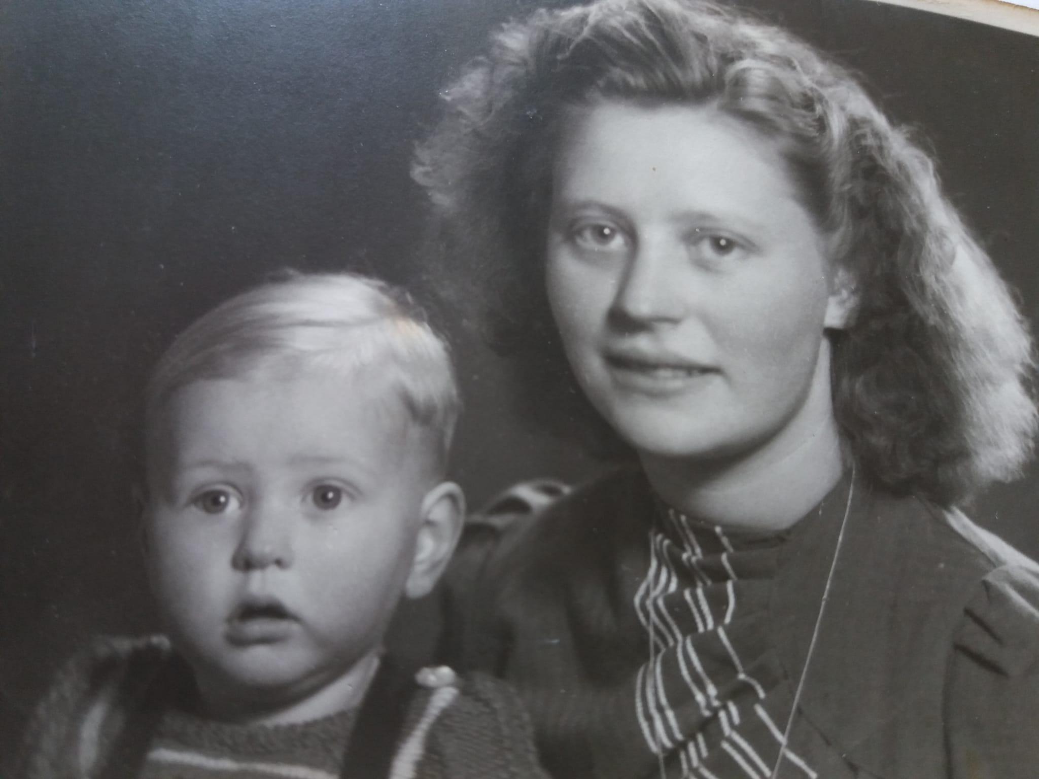 Oma Harmke en Paps
